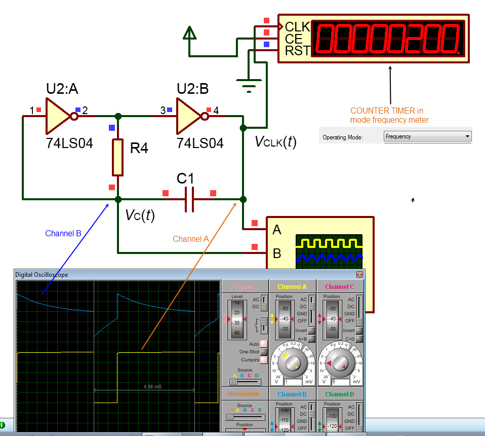 Sinewave Converter Circuit Diagram Tradeoficcom Ac Oscillator Schematic Electrical Wiring Diagrams Digital Circuits And Systems I Sistemes Digitals Csd Made With Transistors